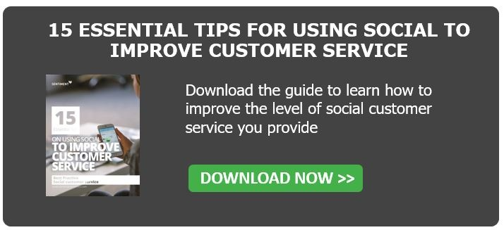 Download the social customer service guide