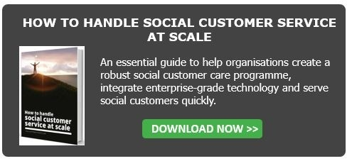 How to handle social customer service at scale