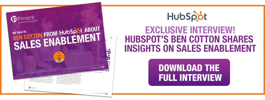 Download Hubspot Sales Enablement Insights