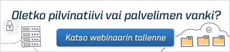 Webinaari webhostingin evoluutiosta - tallenne