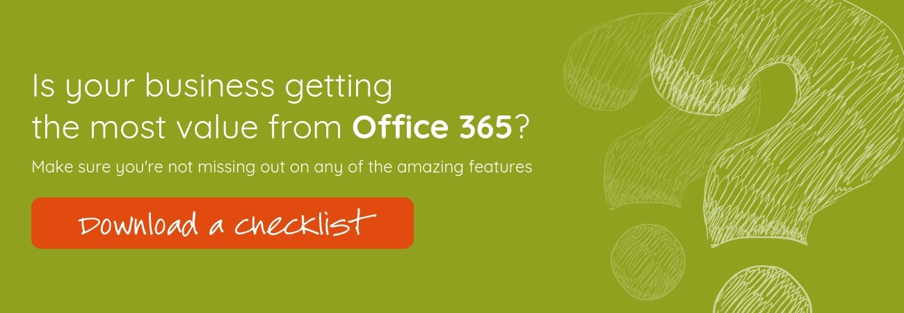 Office 365 Action Checklist