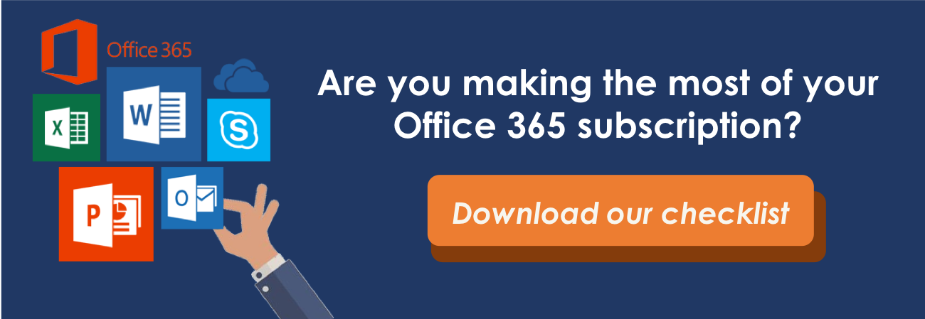 Download our free Office 365 checklist