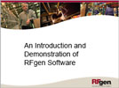 RFgen Data Collection Software Free Demo