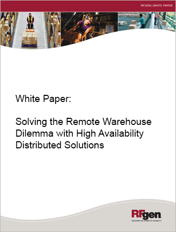 Solving the Remote Warehouse Dilemma with High Availability Distributed Solutions