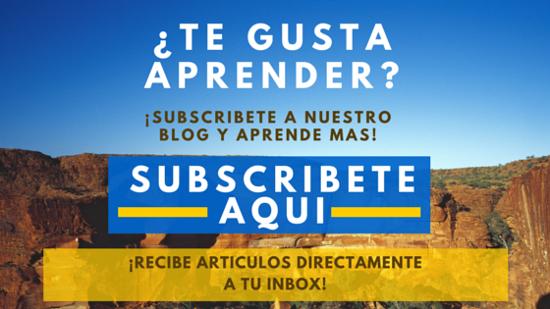 Blog Subscription en Español