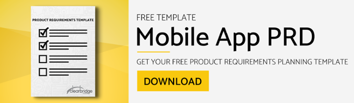 Mobile App Product Requirements Document