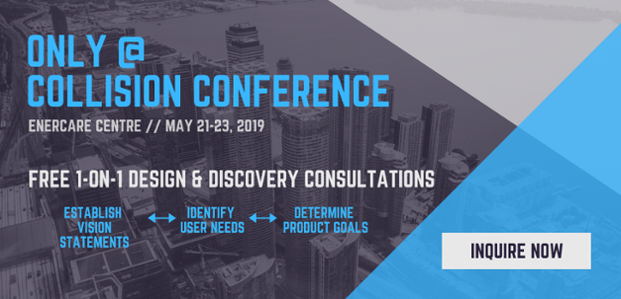 Free 1-on-1 Design & Discovery Consultations Only at Collision Conference