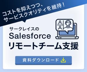Salesforceリモート型運用代行サービス Hybrid Service for Salesforce