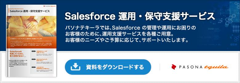Salesforce 運用・保守支援サービス