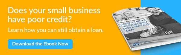 Does your small business have poor credit?