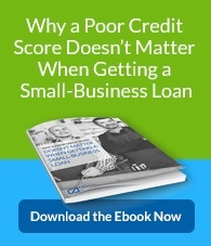 Why a poor credit score doesn't matter when getting a small-business loan