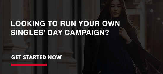 We can help you run a Singles' Day campaign