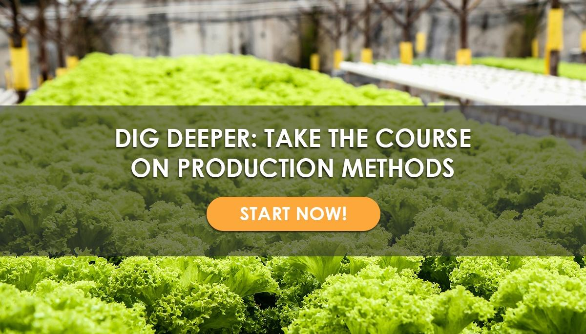 USU Course: Choosing Your Production Method