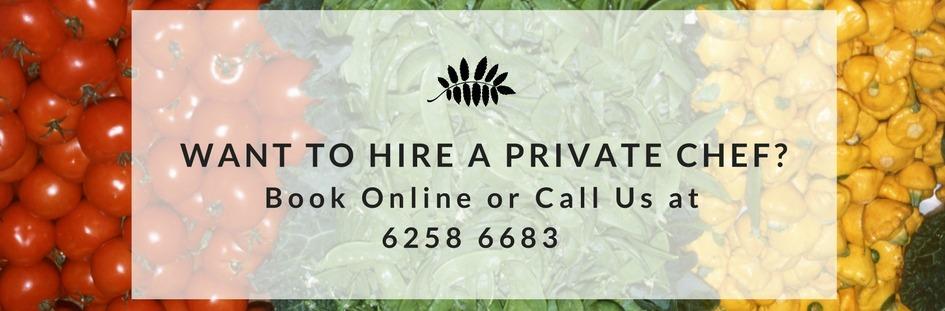 Hire a private chef today!