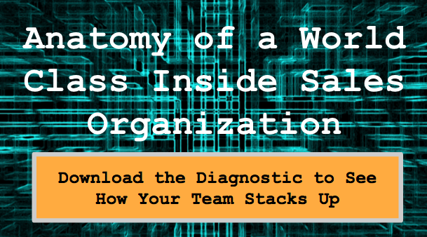 Anatomy of a World Class Inside Sales Organization