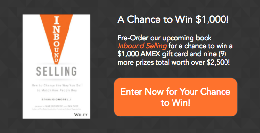Pre-order Inbound Selling Book for a Chance to Win 10 Prizes