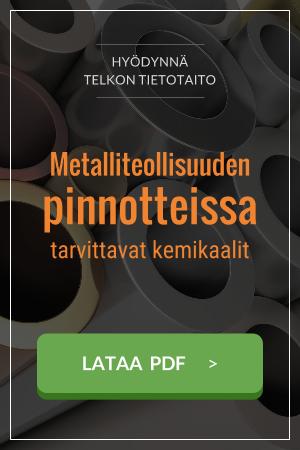 Metalliteollisuuden kemikaalit