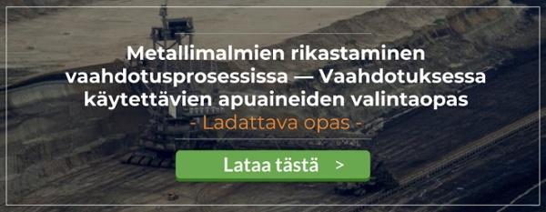 Metallimalmien rikastaminen vaahdotusprosessissa_Telko