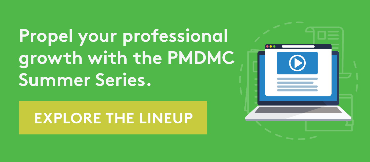 Professional Growth at the PMDMC Summer Series