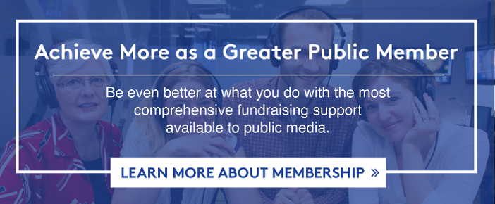 Learn more about Greater Public membership >
