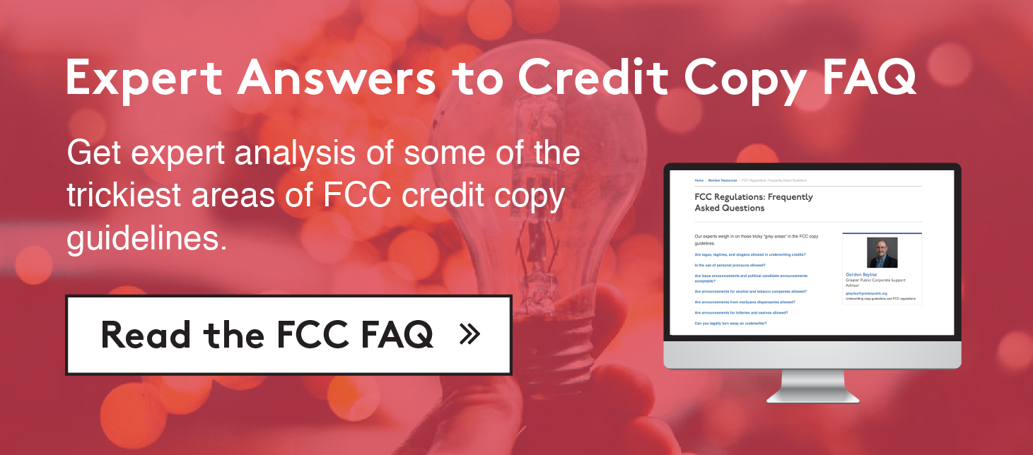 Expert answers to credit copy FAQ