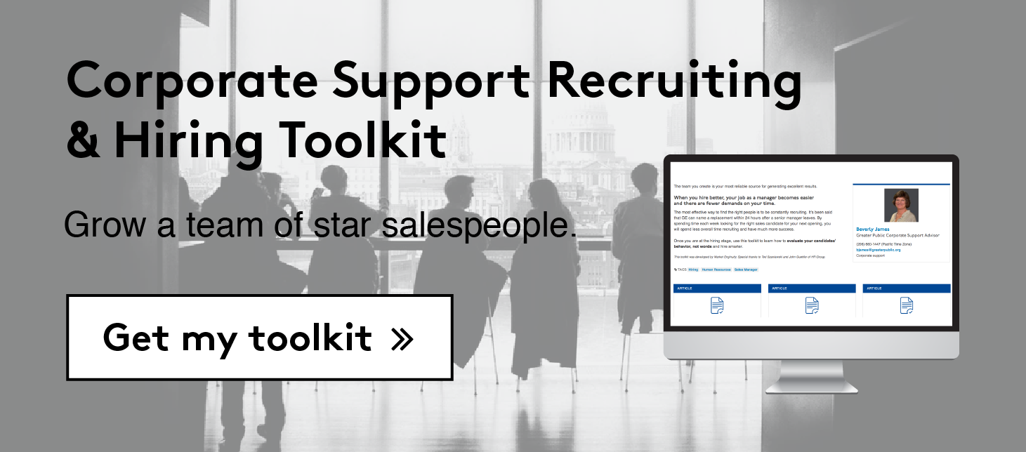 Corporate Support Recruiting & Hiring Toolkit