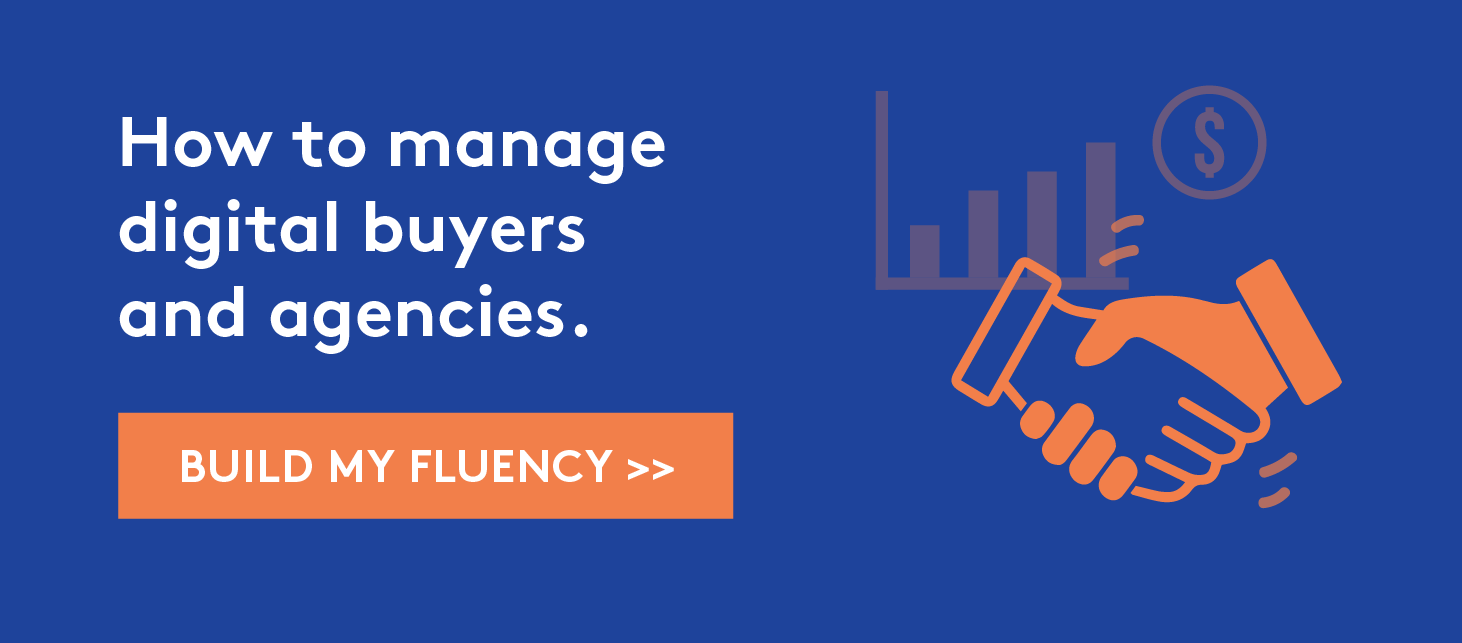 Manage digital buyers and agencies