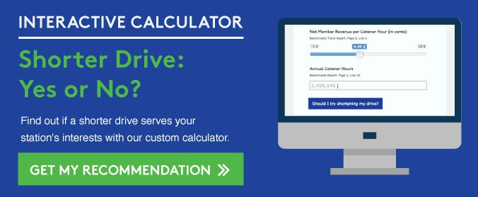 Try the shorter drive calculator >>