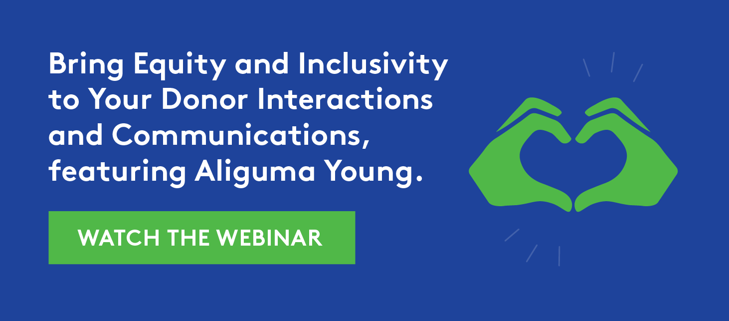 Bring Equity and Inclusivity to Donor Interactions
