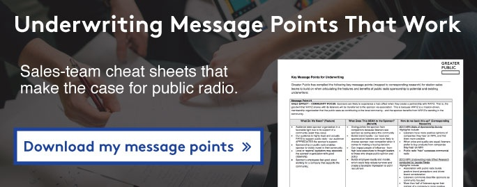 Download key message points for underwriting >>