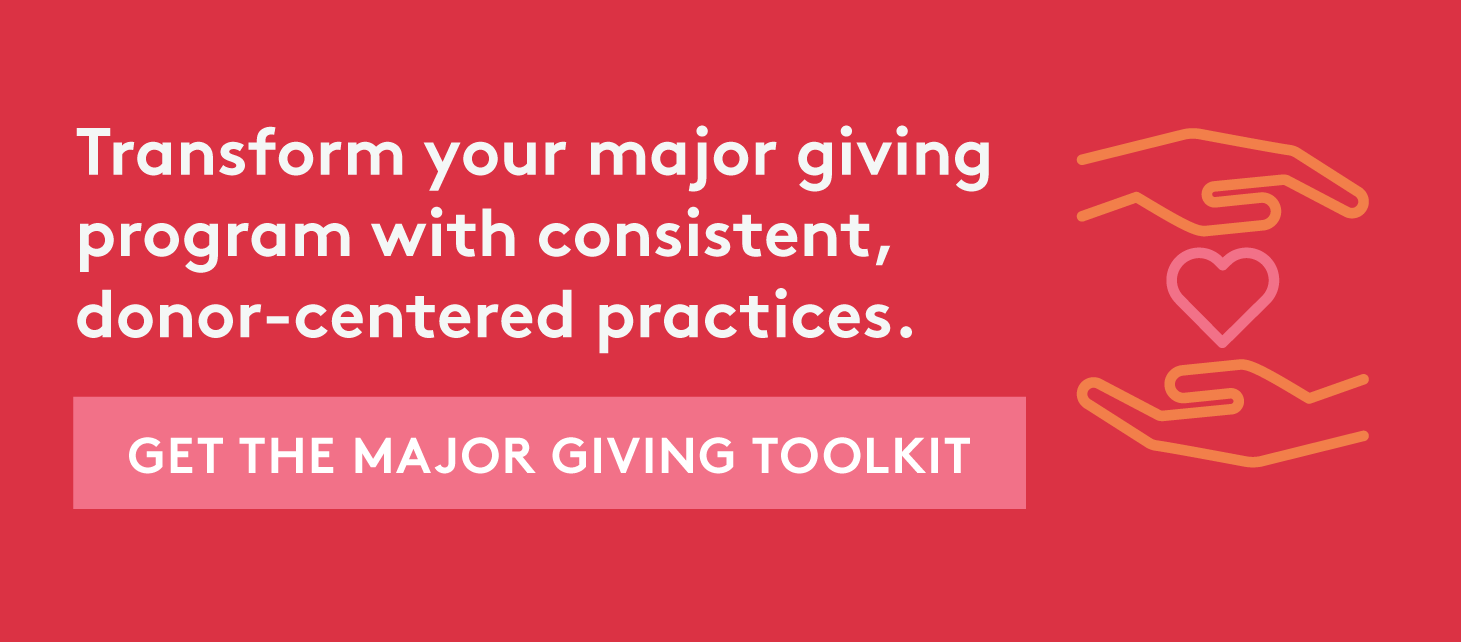 donor-centered practices