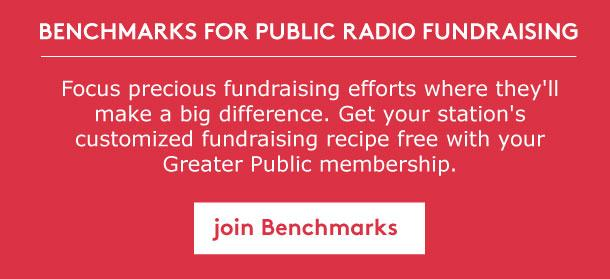 Join Greater Public's Benchmarks