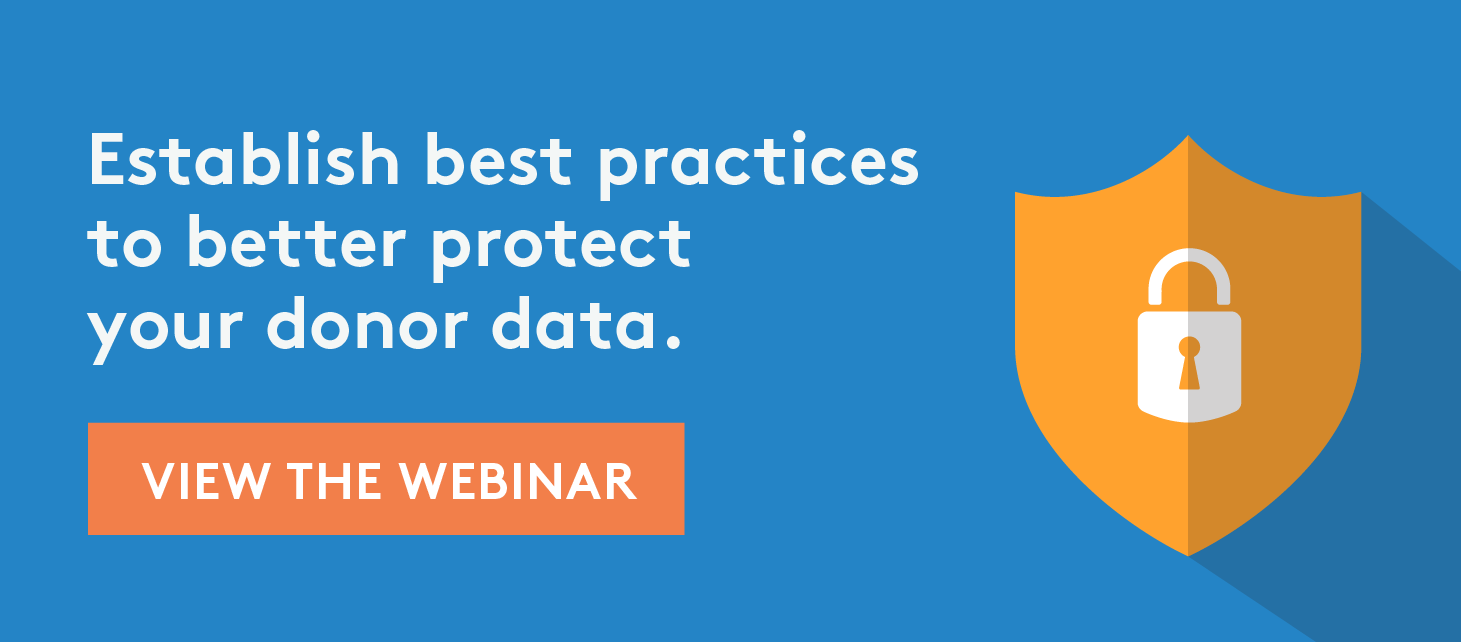 Establish best practices for data security