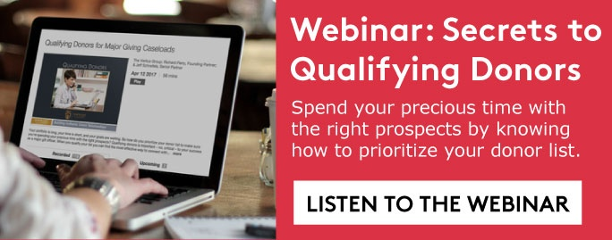 Listen to webinar about qualifying donors >>>