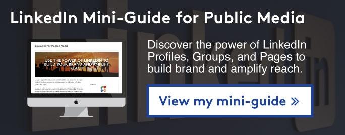 View my LinkedIn mini-guide >>