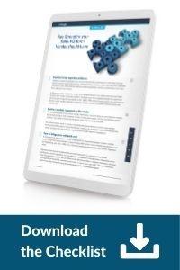 Download the Checklist: Key strengths your sales platform vendor should have