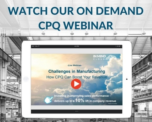 Watch our CPQ Webinar Recording