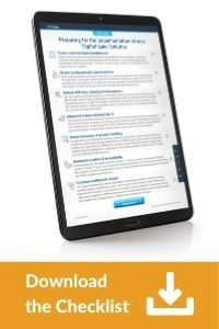 Download the Checklist: Preparing for the implementation of your Digital Sales Solution