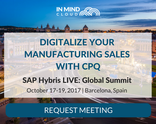 Request Meeting with In Mind Cloud at SAP Hybris LIVE- Global Summit 2017