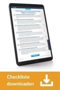 Checkliste downloaden: Implementierung einer Digitalen Vertriebslösung