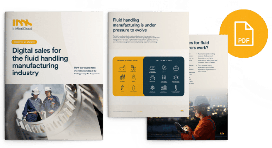 Digital Sales for the Fluid Handling Manufacturing Industry