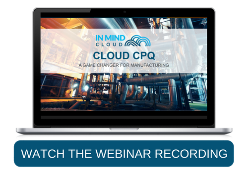 Webinar Cloud CPQ A Game Changer for Manufacturing Industries SAP Netafim In Mind Cloud