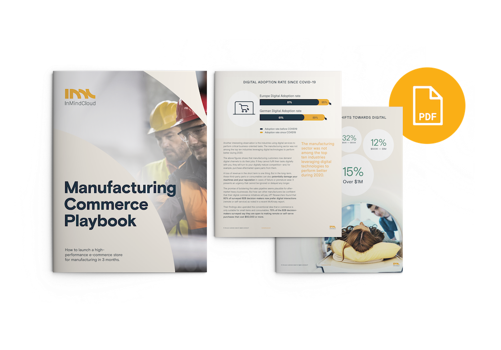 Manufacturing Commerce Playbook