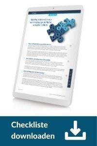 Checkliste downloaden: Digitale Vertriebslösungen - Anbieterauswahl