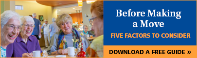 5 Factors to Consider Before Moving into Senior Living | Eskaton
