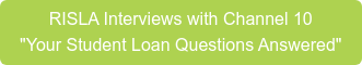 """RISLA Interviews with Channel 10 """"Your Student Loan Questions Answered"""""""