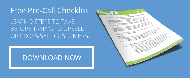 Free Pre-Call Checklist for Selling to Your Customer Base