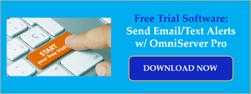 Send Email/Text Process Alerts w/ Free Trial