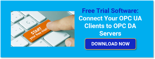 Access OPC DA Classic servers with OPC UA clients using TOP Server Free Trial