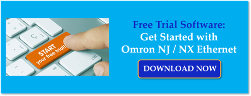 Collect Real-Time Data from Omron NJ & NX Ethernet Devices w/ Free Trial